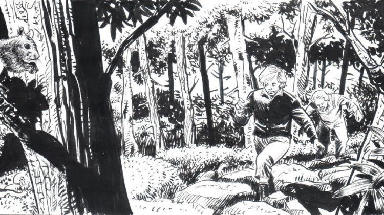 Un fumetto sulla vita del giovane Paul Harris