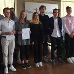 """Premiati gli studenti vincitori della XXV edizione del concorso """"Serietà & Impegno"""""""