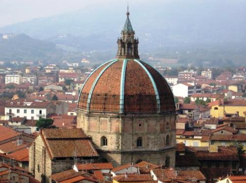 Presentato il service dell'anno per la cupola della Basilica della Madonna dell'Umiltà