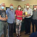 Il Club dona una foto-trappola al Centro Visite della Riserva Naturale del Padule di Fucecchio